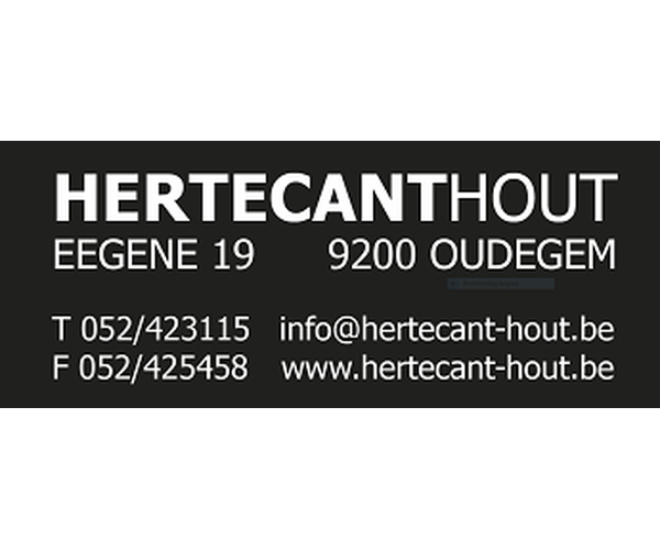 Hertecant hout