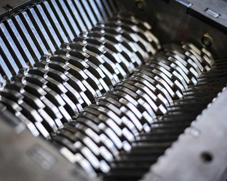 (Ver)malende shredder